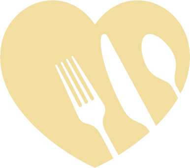 Heart and silverware