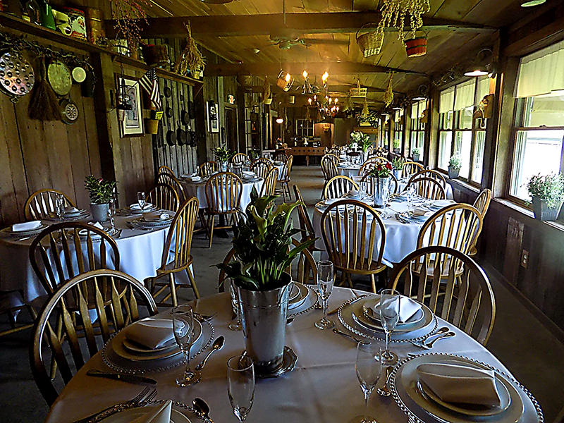 Stable dinning room.