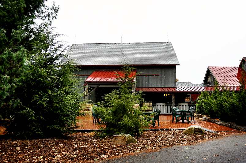 Image of the barn and stable at Watsons Choice.